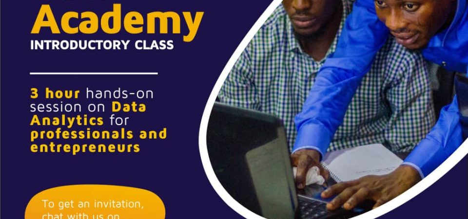 Utiva, a Data Analytics Accelerator, Will Run FREE Sessions on May 18th in Lagos [Register]