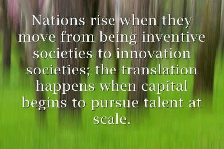 From Capitalism to Talentism; Inventive Society to Innovation Society [Video]