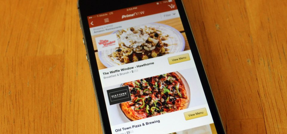 Amazon's Exit from Restaurant Delivery Shows Startups Can Win with Upstream Capabilities